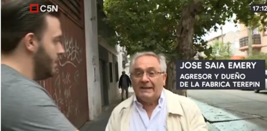 Directivos de una fábrica en crisis agredieron a periodistas