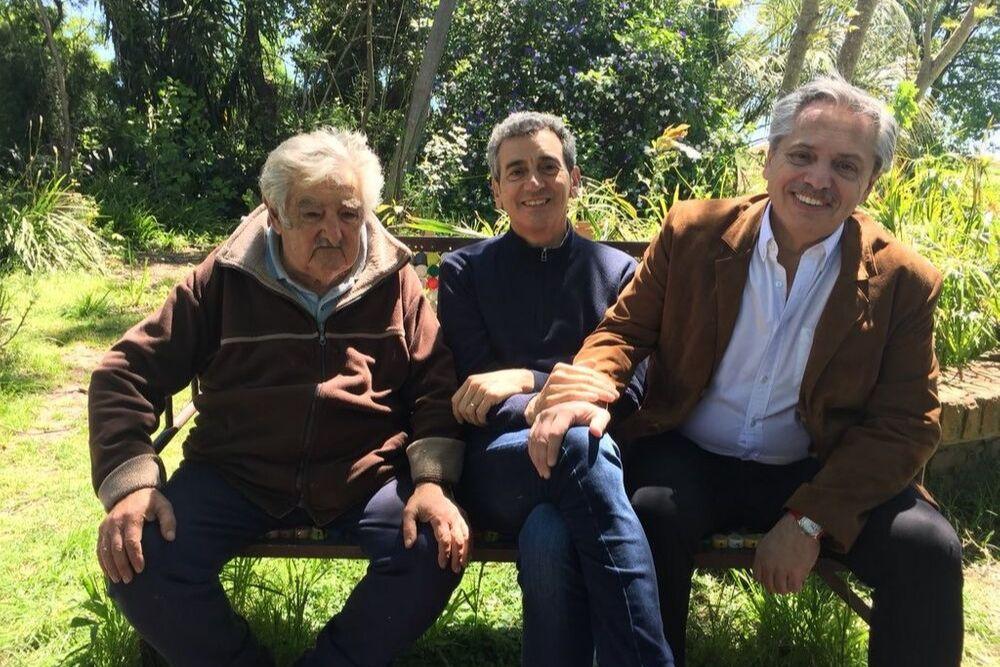 Pepe Mujica Randazzo y Alberto Fernández @Alferdez octubre 2017