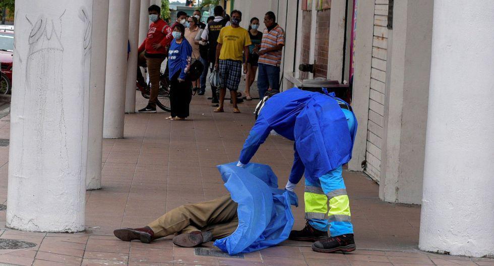 Covid-19 en Ecuador: arrojan cadáveres de presuntos infectados a ...