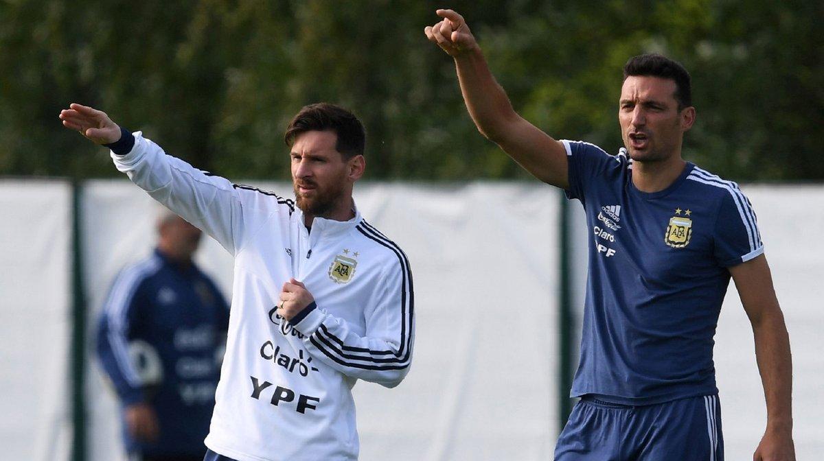 Scaloni sueña con el regreso de Messi a la Selección en 2019
