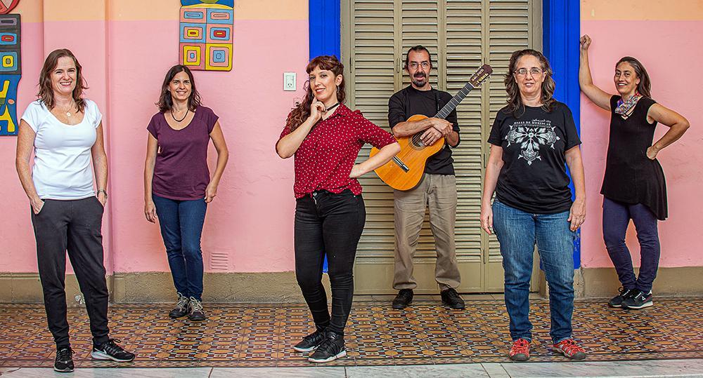 Caro - Delia - Yanina - Pico - Nella - Laura