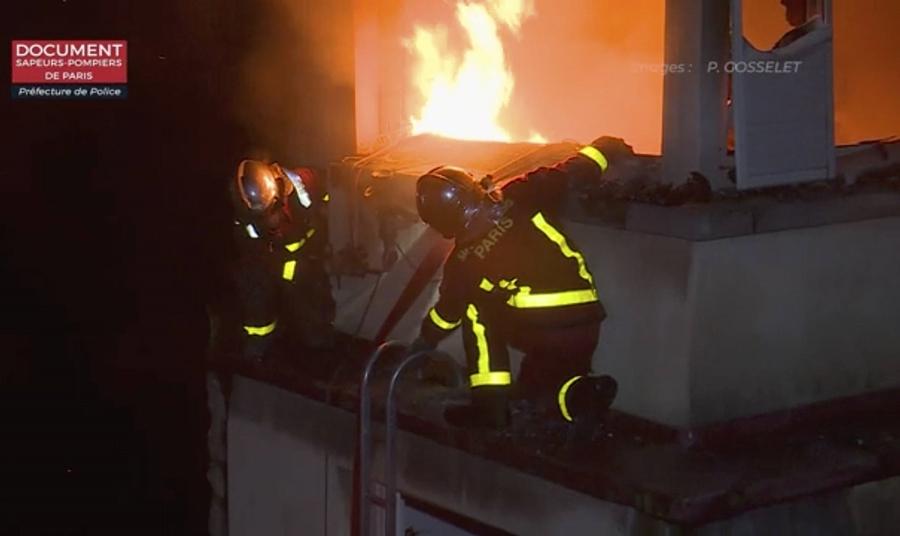 París: al menos 10 muertos y 30 heridos en un incendio intencional