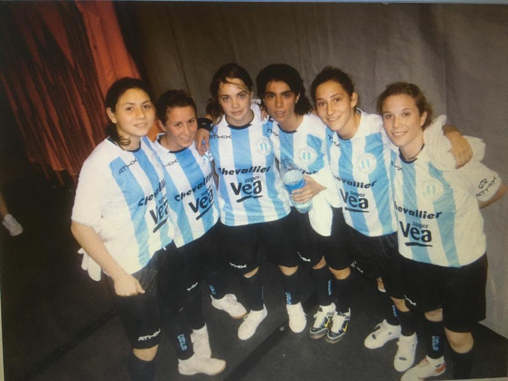 Selección argentina futsal con Banini juvenil
