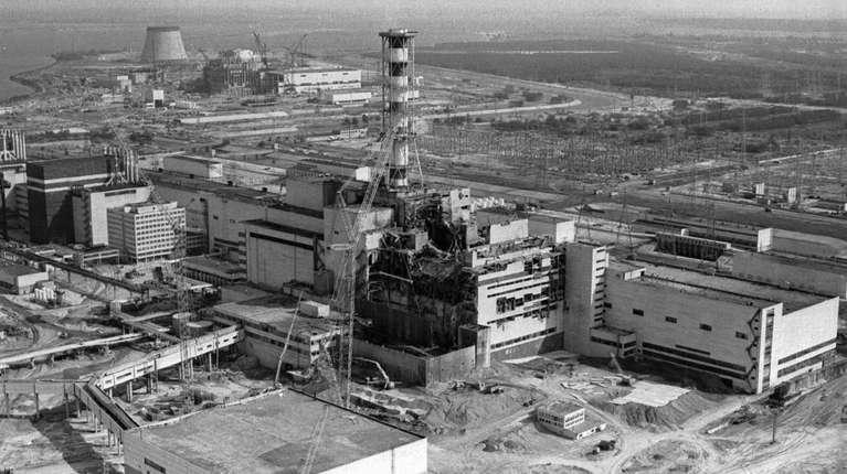 Chernobyl B&W