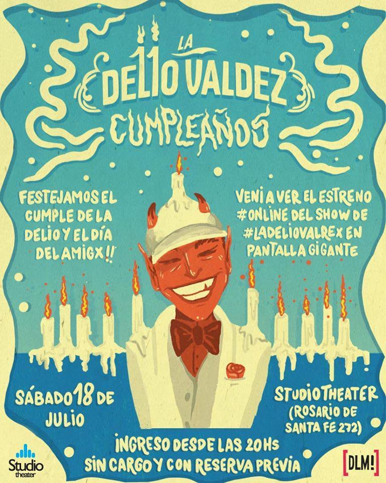 Delio Valdez 10 años en la pantalla de Studio