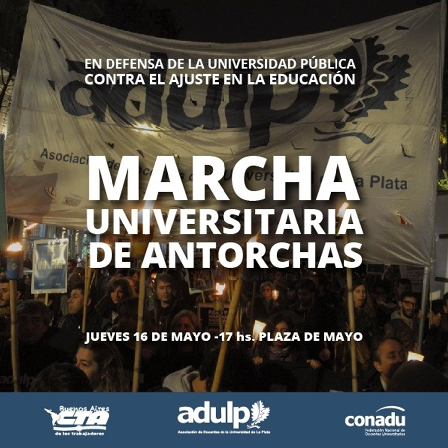 marcha antorchas