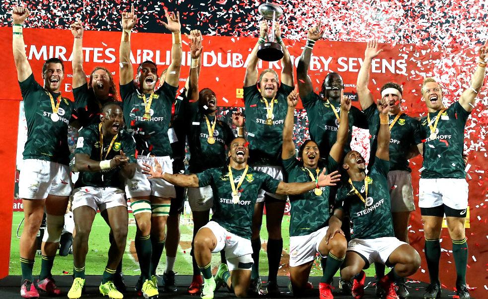 Los Blitzboks Sudafricanos campeones del Seven de Dubai