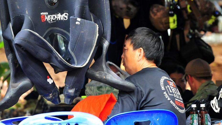 Tailandia: murió un buzo que intentaba ayudar a los chicos atrapados