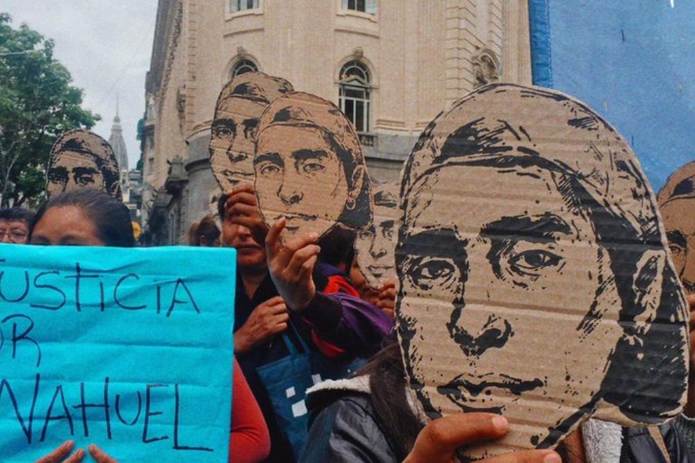 Marcha por Rafael Nahuel 2019 @mmindigenas