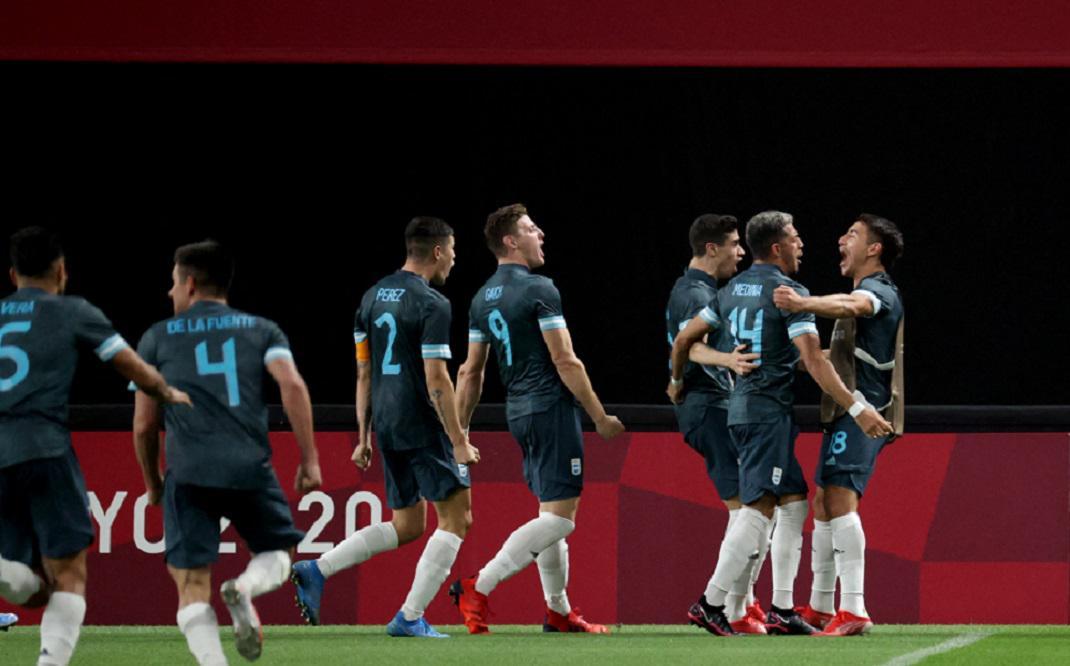 Argentina venció a Egipto en Tokio 2020 y se ilusiona con la clasificación