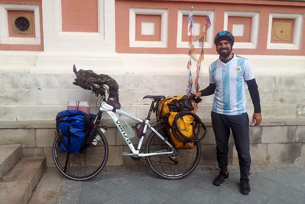 De Córdoba al Mundial: sueños rusos en bicicleta