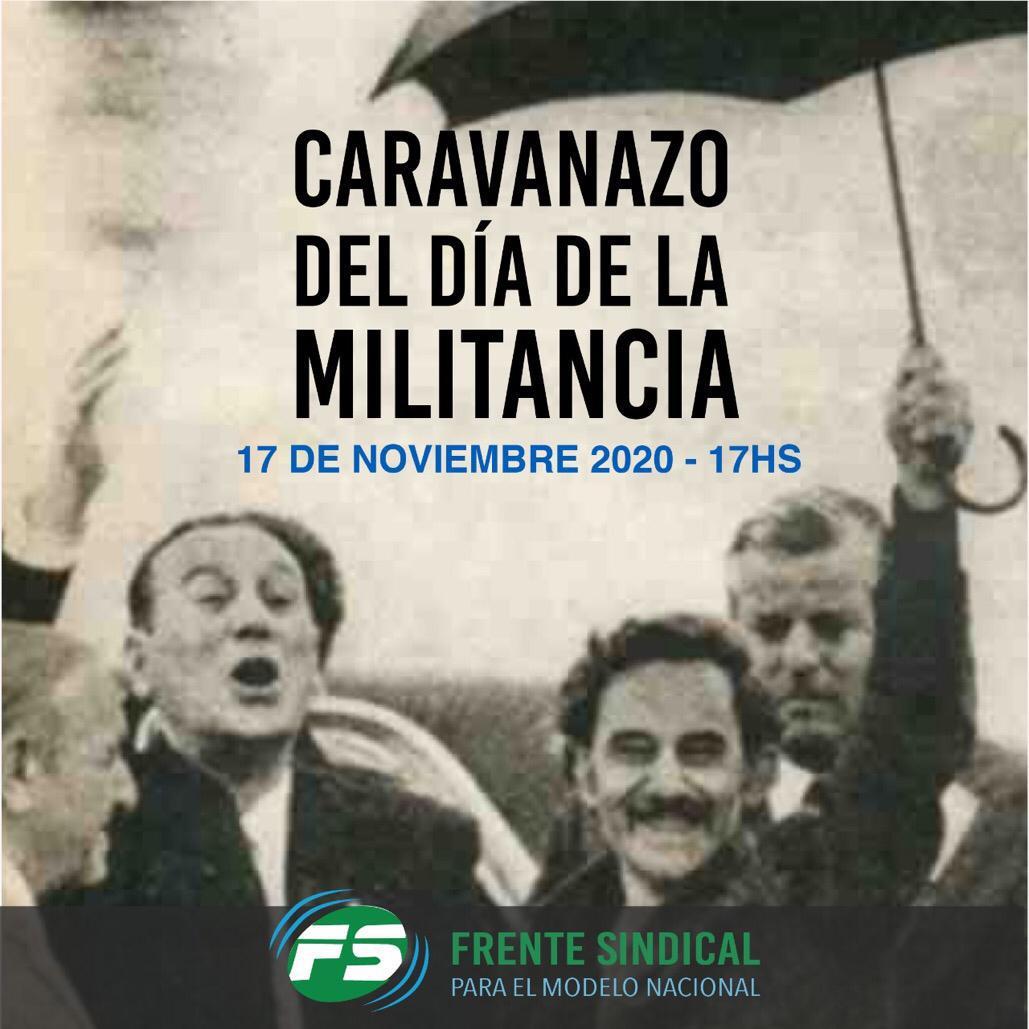 Convocatoria Frente Sindical Noviembre 2020