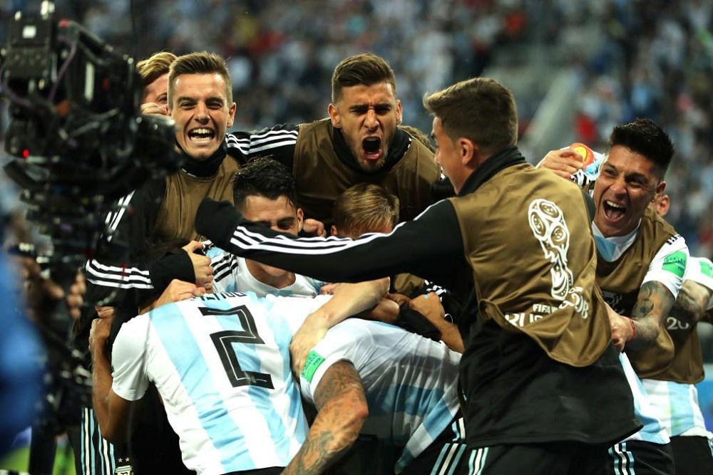 Argentina le ganó a puro corazón a Nigeria y sigue con vida en el Mundial