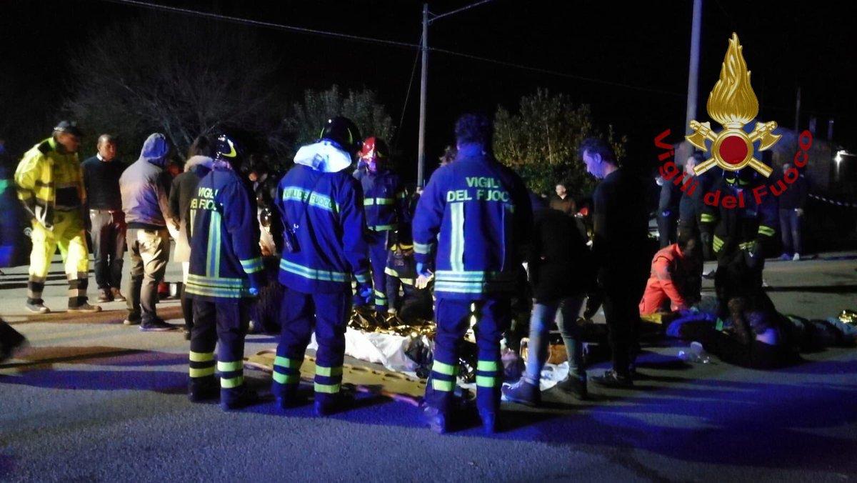 Al menos seis muertos y más de 120 heridos durante un recital en Italia