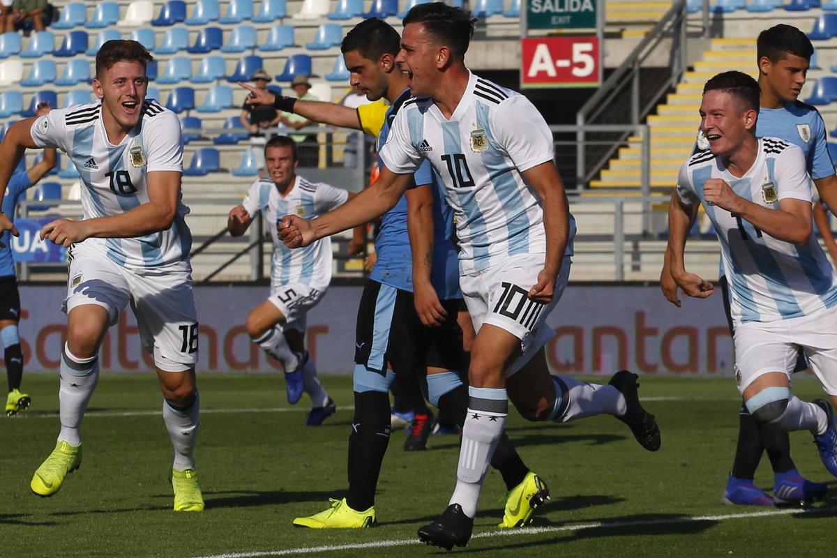 Sub 20: Argentina le ganó a Uruguay y clasificó al Mundial de Polonia