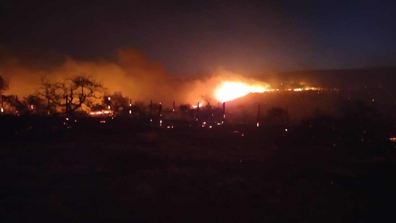 incendio punilla by Federación de Bomberos Voluntarios de Córdoba