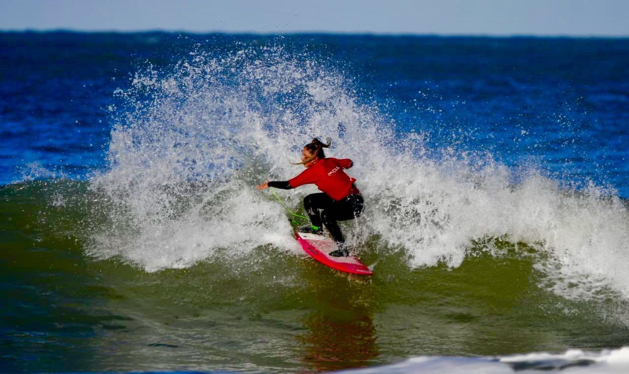 El reinado de la nueva gema del surf argentino