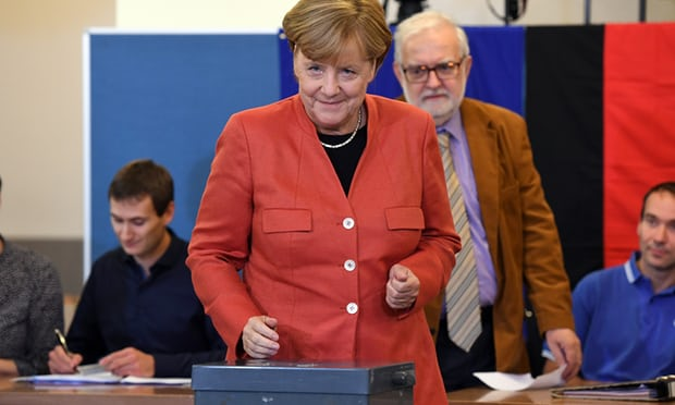 Angela Merkel by Getty images